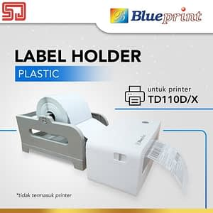 Dudukan Paper Roll External Label Roll Holder Plastik