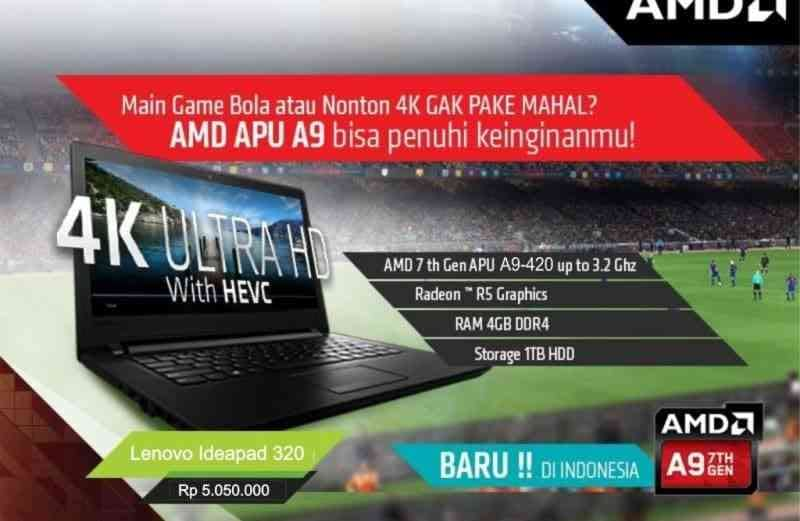 Lenovo IdeaPad 320 -14AST- AMD A9-9420