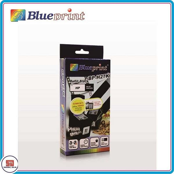 Blueprint Tinta Suntik Refill Black Hp